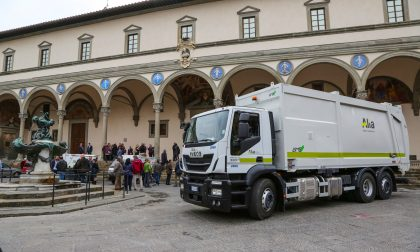 A Firenze la raccolta dei rifiuti si fa a metano ed è super ecologica