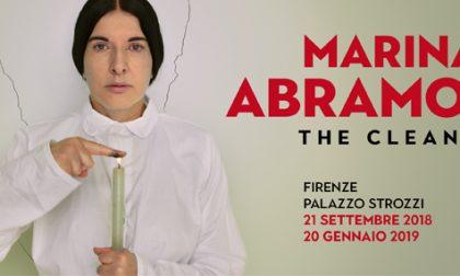 L'artista Marina Abramović, stupisce ancora