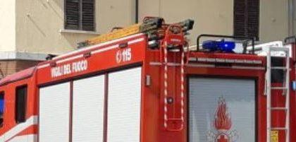 A fuoco appartamento a Firenze