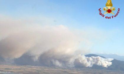 Incendio Monte Serra, fermato presunto piromane