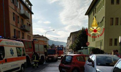 Scontro tra due auto in via dei Ciliani a Prato