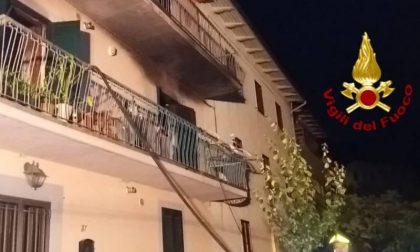 Donna ustionata a Sasseta (Vernio)