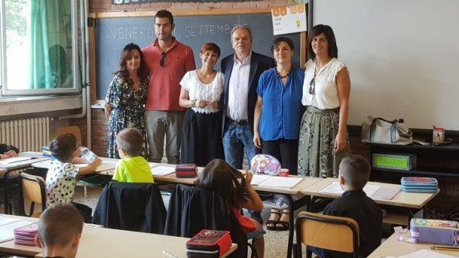 Il sindaco Lorenzini incontra i bambini delle scuole primarie