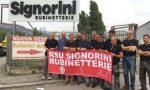 Rubinetterie Signorini, lavoratori in sciopero