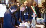 Il direttore degli Uffizi in visita al palazzo comunale di Signa