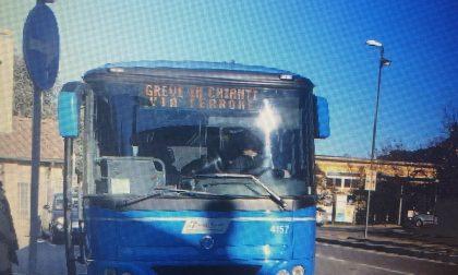 Ingiurie e minacce all'autista del bus