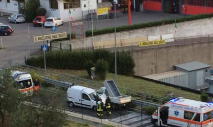 Brutto incidente sulla Sr 325: strada bloccata