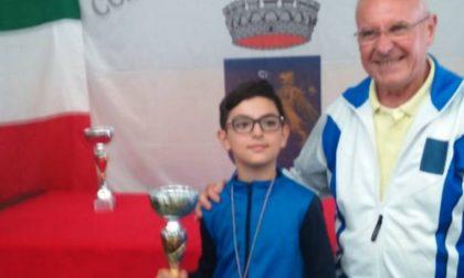 Il campione di bocce ha 12 anni