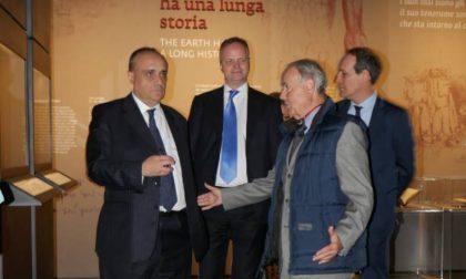 Il Ministro Bonisoli in visita agli Uffizi