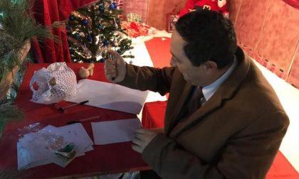 Il sindaco Bosi scrive a Babbo Natale per ringraziare la sua comunità
