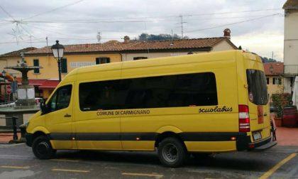 Un nuovo scuolabus a disposizione degli studenti di Carmignano