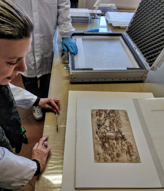 Cinquecentenario dalla morte di Leonardo da Vinci: prime analisi sul famosissimo Paesaggio
