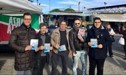 I gilet azzurri scendono in piazza anche in provincia di Firenze