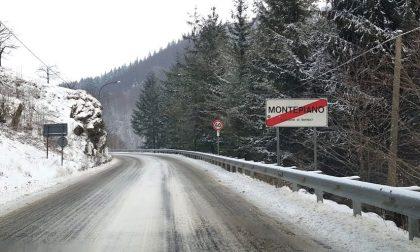 Neve in Val di Bisenzio, traffico regolare e strade pulite