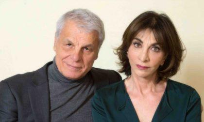 Michele Placidoe Anna Bonaiuto in scena a Campi Bisenzio