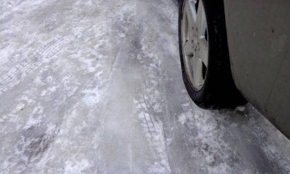 Arriva il ghiaccio anche in pianura