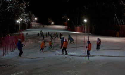 Gare in notturna per i giovani sciatori pistoiesi