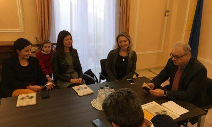 Studenti pistoiesi ricevuti dall'ambasciatore ucraino in ricordo di Giuseppe Ferri