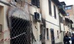 Paura per un incendio in via Catalani