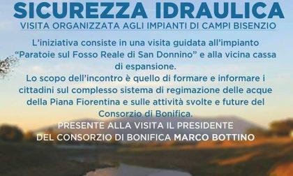 Sicurezza idraulica: FareCittà organizza una visita a due impianti di Campi