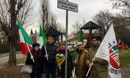 L'omaggio di Forza Italia ai martiri delle Foibe