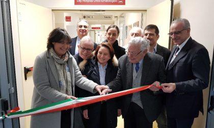 Inaugurati i nuovi ambulatori di Ematologia Padiglione S.Luca