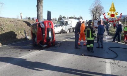 Incidente stradale: quattro feriti, interviene il Pegaso