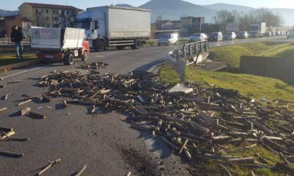Incidente con perdita di carico a Montemurlo