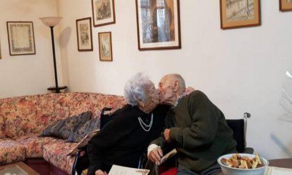Rina e Vittorio hanno festeggiato i 70 anni di matrimonio
