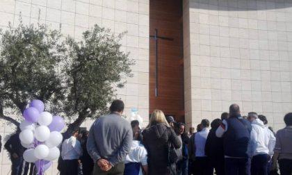 Morte improvvisa Alessio Carmagnini: una folla al funerale