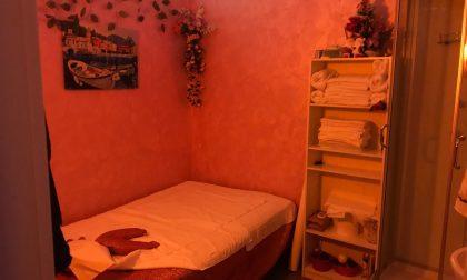Chiuso centro massaggi a luci rosse