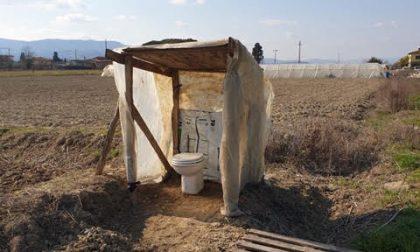 Spunta un bagno artigianale a San Giorgio a Colonica