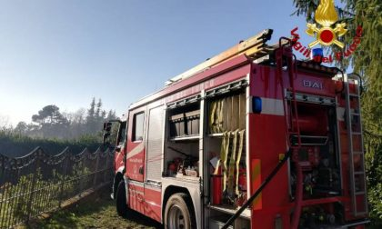 Ancora un incendio boschivo ad Avaglio: fuoco domato ma resta la paura
