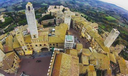 "San Gimignano si ""Illumina di meno"""