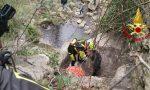 Pastore tedesco scomparso, salvato dai Vigili del fuoco
