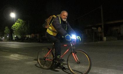 Paolo, 19 chilometri  in bici tutte le mattine per andare al lavoro