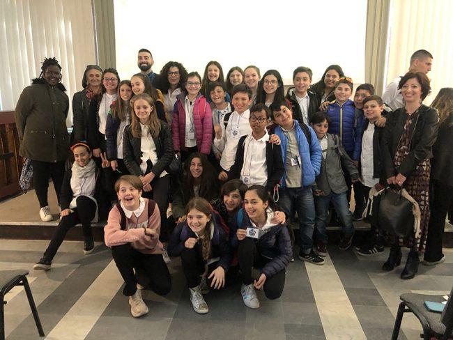 Scuola Marmocchi: premiata la 1B FOTO