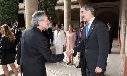 Bellandi premiato in Spagna del Re Felipe VI come presidente itinerario europeo Ehtta