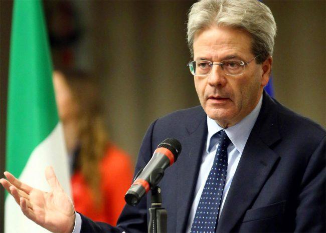 Paolo Gentiloni domani a Prato