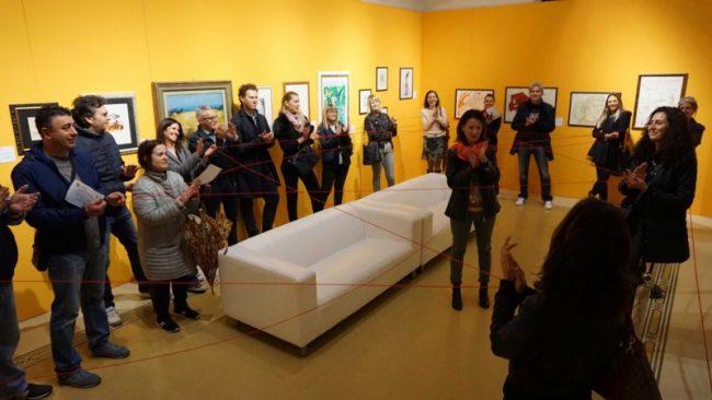 Alla galleria civica MO.C.A. di Montecatini il premio per il visitatore numero 90mila