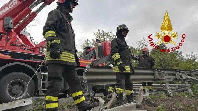 Incidente ad un pullman sulla Firenze-Siena c&#8217&#x3B;è una vittima VIDEO