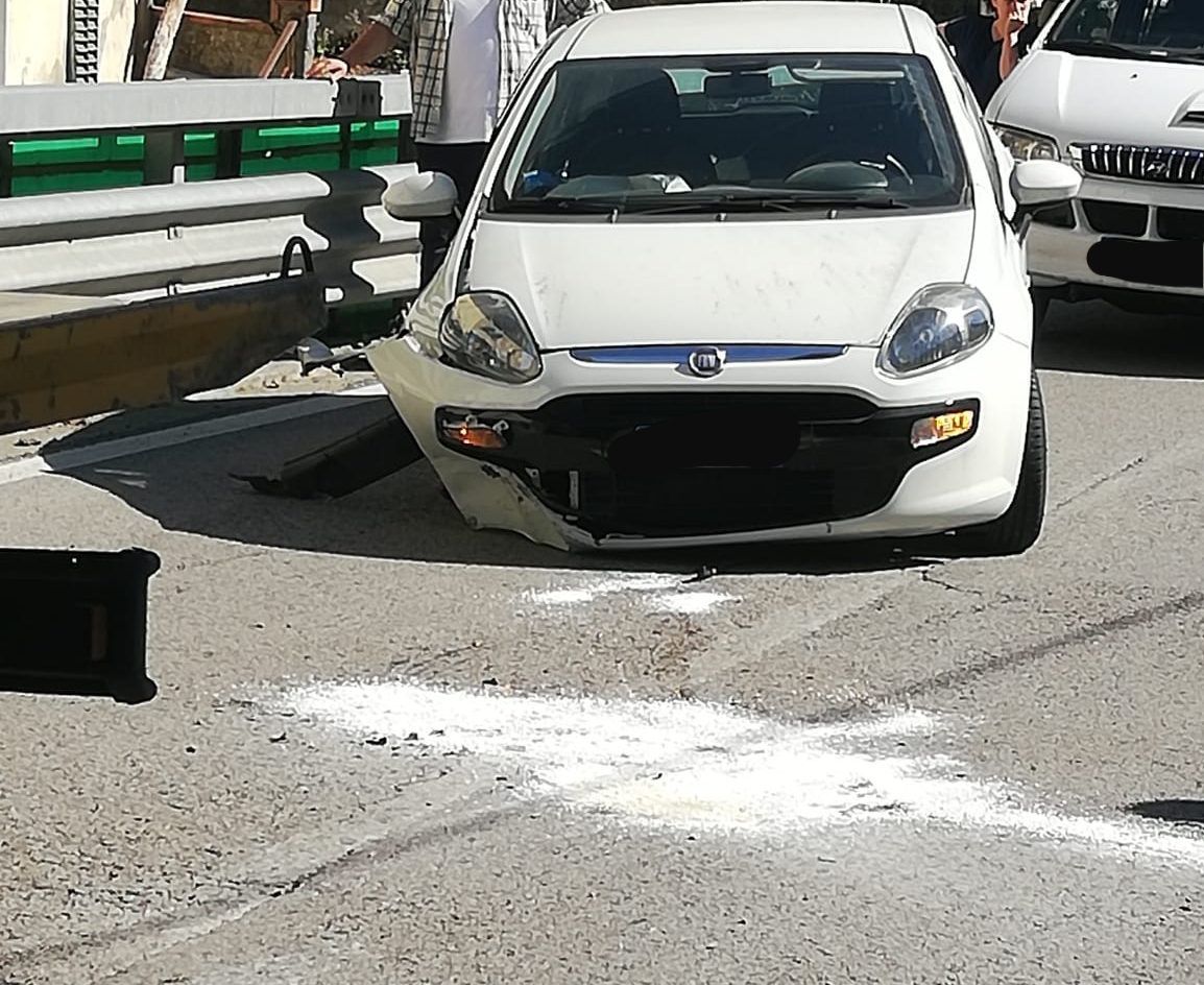 Incidente stradale a Terrigoli