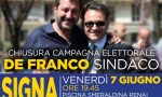 Lega e FdI a fianco di De Franco per la chiusura della campagna