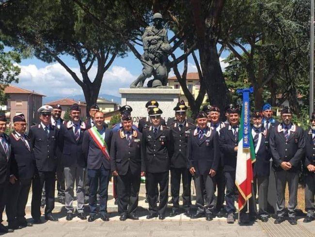 Il Comune festeggia l'associazione nazionale carabinieri in congedo