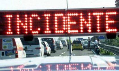 Incidente stradale in viale dei Mille