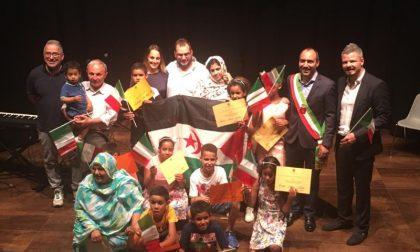 Cittadinanza onoraria simbolica per i dieci bambini saharawi