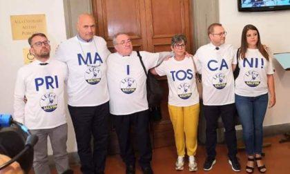 Protesta della Lega in Regione: la maglietta sbagliata tocca alla consigliera pistoiese