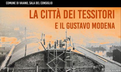 """Lunedì 15 a Vaiano """"La città dei tessitori e il teatro Gustavo Modena"""": documentario di Barbara Weigel che racconta 10 anni di storia del paese"""
