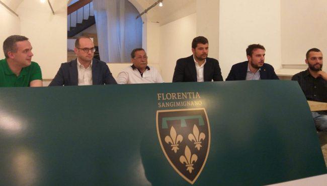 Florentia San Gimignano, la presentazione ufficiale VIDEO