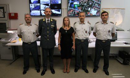 Prefetto visita Guardia di Finanza di Firenze FOTO